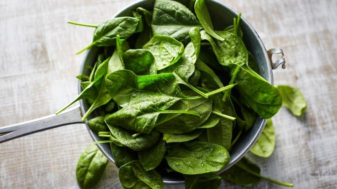 spinach for healthy bones